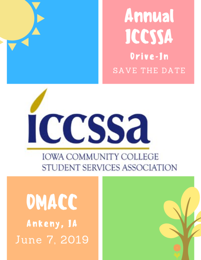 Save the Date June 7 2019 Annual ICCSSA Drive-In